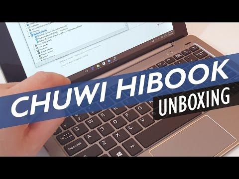 Chuwi HiBook & Keyboard Unboxing