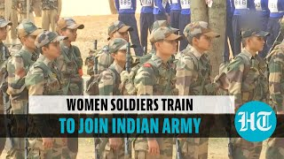 Watch: First batch of women military police gear up to join Indian Army