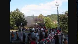 preview picture of video 'Parowozjada 2008 Sucha Beskidzka   pociągi'
