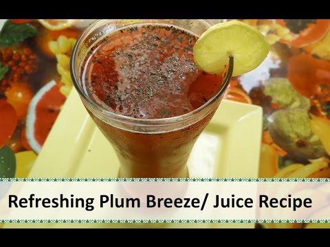 Video Refreshing Plum Juice | Summer Drink Recipe by Healthy Kadai