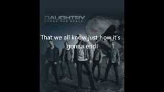 Rescue Me- Daughtry(lyrics)