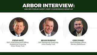 Arbor Interview: IMN SFR Forum (West) Post-Conference Wrap-Up