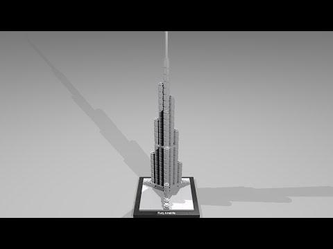 Vidéo LEGO Architecture 21008 : Burj Khalifa