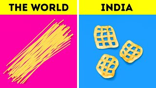 32 UNUSUAL FOOD HACKS FROM ALL AROUND THE WORLD BY 5-MINUTE RECIPES