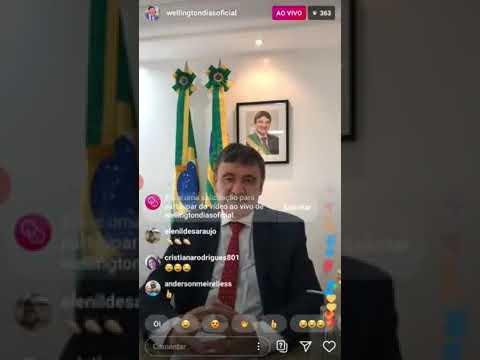 Governador Wellington Dias prorroga decreto é quarentena vai até 30 de Abril