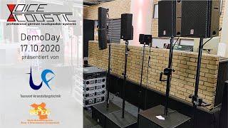 Voice-Acoustic DemoDay 17.10.2020, eine Lautsprecher-Auswahl - KOPFHÖRER!