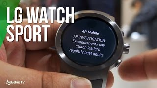 LG Watch Sport, toma de contacto