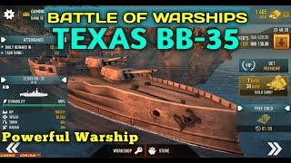 Battle of Warships - Texas BB-35
