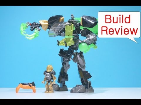 Vidéo LEGO Hero Factory 44019 : Rocka et son robot invisible