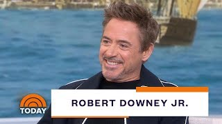 Robert Downey Jr. Talks About New Film 'Dolittle,' Death Of Iron Man, More | TODAY
