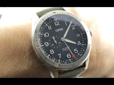 Oris Big Crown Propilot Timer GMT 01 748 7756 4064-07 3 22 02LC Oris Pilot's Watch Review