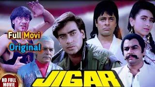 Jigar Full Hindi Action Movies   Ajay Devgn Karisma Kapoor Paresh Rawal   90's Popular Hit Movies