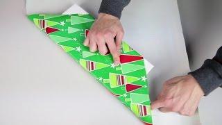 Japan Gift Wrap Hack for Long Presents [No Tape No Ribbon] | BeatTheBush
