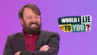 Barbigerous Harbinger of Exuberance - David Mitchell on Would I Lie to You?