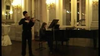 W.A.Mozart Violin Concerto No.3 - Fahrettin Arda & Hülya Ardıç