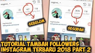 Cara Menambah Followers Instagram Terbaru Tanpa Aplikasi dan Password di Android Real 100% | PART 2
