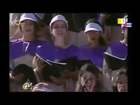 Messe sur la place de la Revolution 'José Marti'