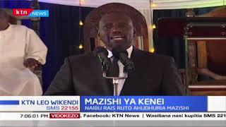 Naibu wa Rais Ruto adai kuna njama ya kumchafulia jina kutokana na mauaji ya Kenei