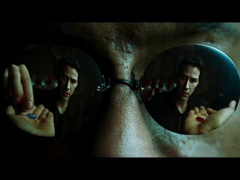 Neo takes the blue pill (deepfake)