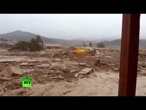 Atacama  Tsunami   Freak rainfall floods devastate driest desert