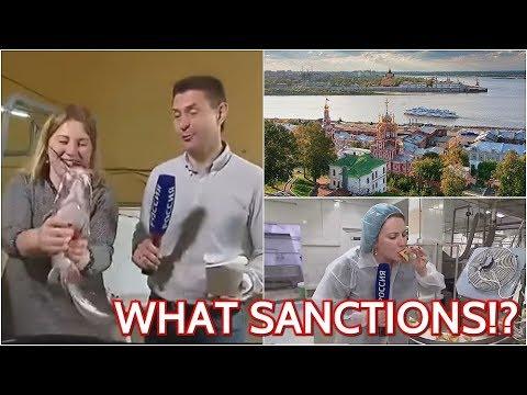 Russische Studenten-Partys mit Sex