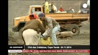 preview picture of video 'Извержение вулкана в Капе Верде'