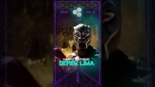 Invitación Temática «Pantera Negra»