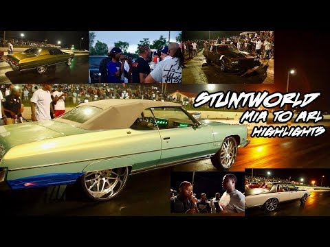 BIG RIM RACING MONSTERS AND MORE GETTING DOWN! STUNTWORLD MIA TO ATL EVENT HIGHLIGHTS
