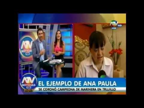 Watch videoSíndrome de Down: Campeona de Marinera Ana Paula Aguero Hurtado