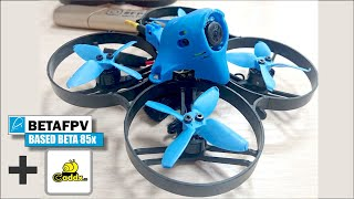 NEW my unbreacable drone. Test flight. Based BetaFPV 85X & FPV camera Caddx Turbo Micro F2