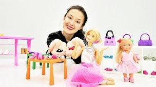 Барби и Штеффи идут на шоппинг. Видео для девочек.