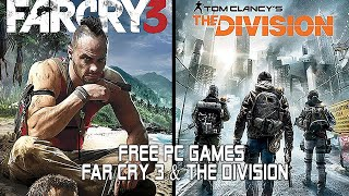 Far Cry 3 & The Division FREE PC GAMES  IMAGES, GIF, ANIMATED GIF, WALLPAPER, STICKER FOR WHATSAPP & FACEBOOK