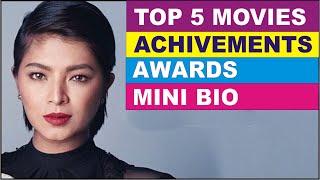 Award-Winning Actress  ♥ Angel Locsin ♥ Mini-Bio ♥ Career Achievements & Awards ♥ Top Rated Movies