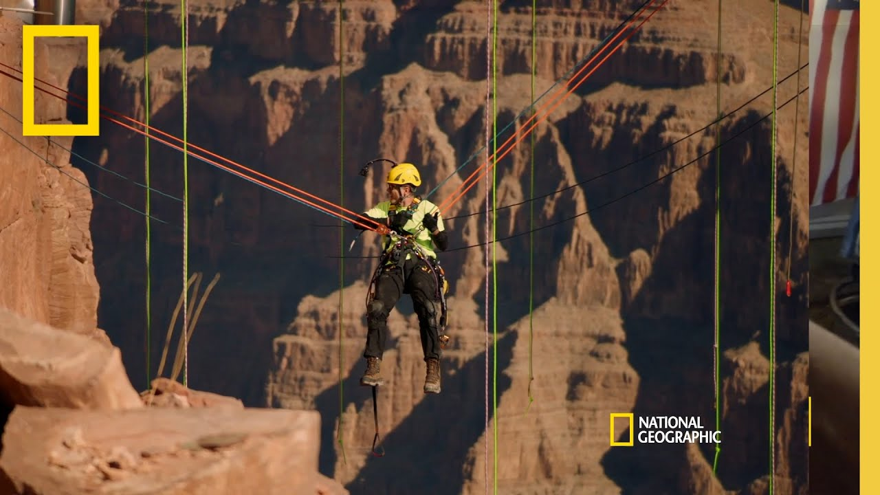 Cleaning The Grand Canyon Skywalk  | Breaking Bobby Bones thumbnail