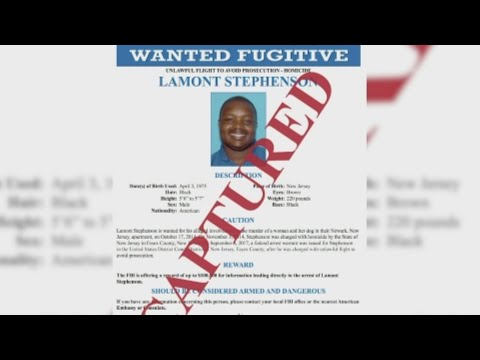 The FBI says a man on on of the FBI's 10 Most Wanted, who was wanted in the slaying of a New Jersey woman, has been arrested in Maryland. (March 7)