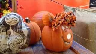 Disney Pumpkin Carvings At Disneyland