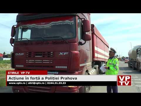 Acțiune în forță a Poliției Prahova
