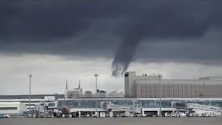 台風、地震の次は、新千歳空港で竜巻トルネードが発生!?