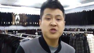Китаец продаёт шубу