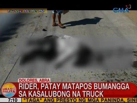 UB: Rider, patay matapos bumangga sa kasalubong na truck sa Abra