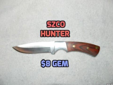Szco Full Tang Hunter Knife Review