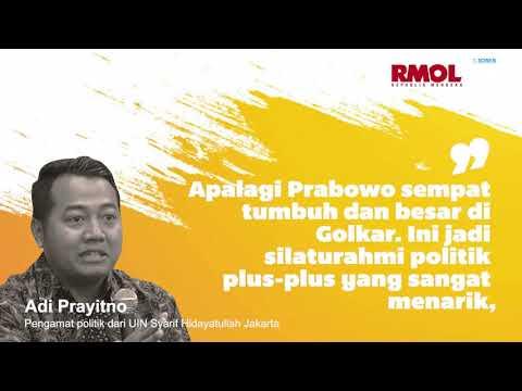 Kolaborasi Airlangga-Prabowo Sinyal koalisi 2024?