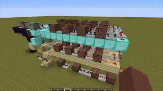Alan Becker AVM Shorts noteblock song in minecraft