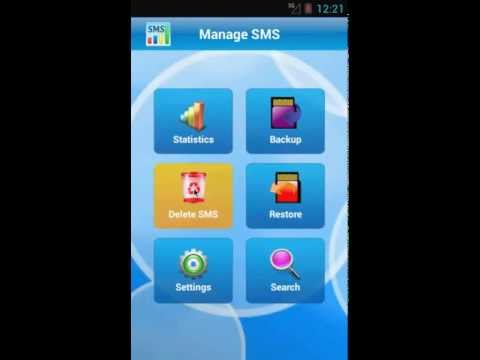 Video of Manage SMS