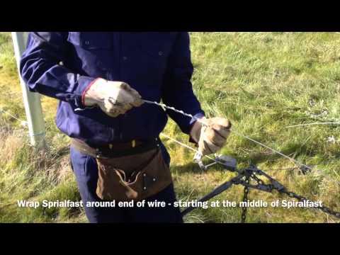 Using Spiralfast wire joiner