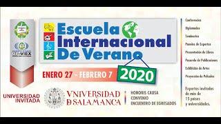 Escuela Internacional de Verano 2020