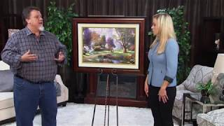 Thomas Kinkade: Walk of Faith Dogwood Chapel