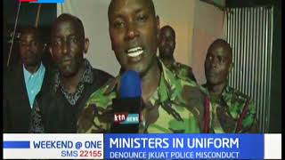GSU Officers join crusade in Kajiado, aiming to boost community relations