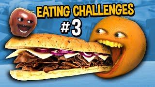 Annoying Orange - Eating Challenges #3
