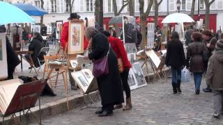 Montmartre and Pigalle, Paris, France